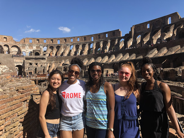 Students Exploring Rome